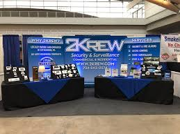 Product Display with 2 Krew Backdrop