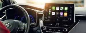 A Toyota Infotainment System