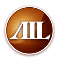 AIL Copper-Colored Button Logo