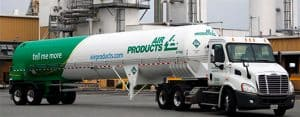 Air Product Gas Truck