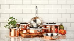 Set of All-Clad Cookware