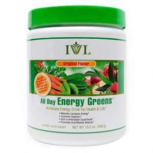 Canister of All Day Energy Greens