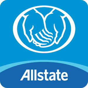 Allstate Name and Cradling Hands Logo