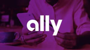 Ally Name over Purple Image