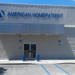 Front of American HomePatient Facility