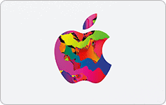 Apple Gift Card with Apple Logo