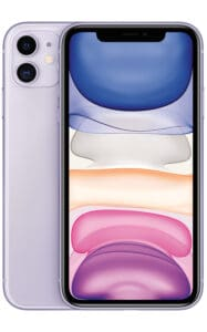 Purple Apple iPhone 11