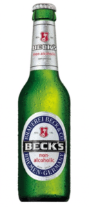 Bottle of Beck's Non-Alcoholic Beer