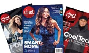 CNET Magazine Covers
