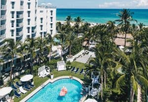 View of the Cadillac Hotel and Beach Club