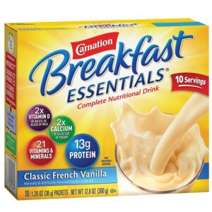 Carnation Breakfast Essentials Classic French Vanilla Product