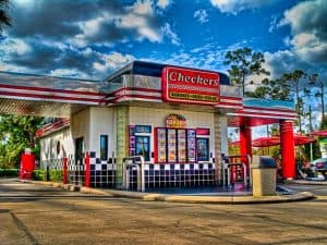 A Checkers Drive-In Restaurant