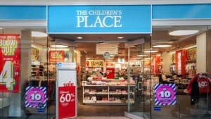 Front of Children's Place Mall Store