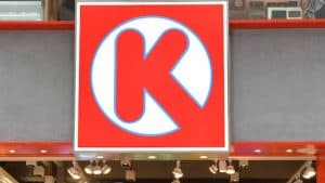 Circle K Logo on Sign
