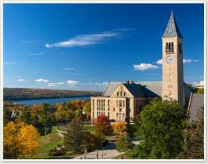 View of Cornell University Campus
