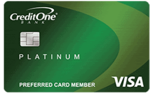 A Credit One Credit Card
