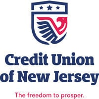 Credit Union of New Jersey Name and Logo