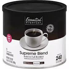 Cannister of Essential Everyday Ground Coffee