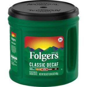 Folger's Classic Decaf 30.5-Ounce Container
