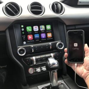 A Ford Infotainment System and Smartphone