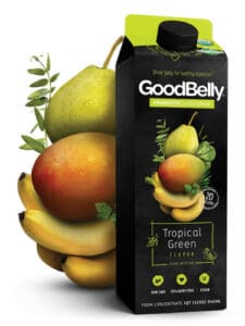 GoodBelly Probiotic Tropical Green Drink