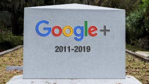 Tombstone for Google+