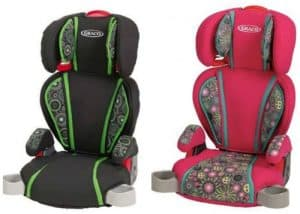 Two Graco TurboBooster Highback Booster Seats