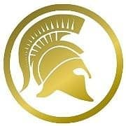 Iconic Ancient Gold Helmet Logo