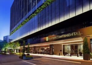 An InterContinental Hotel in Singapore