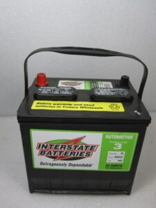 Interstate Battery with Free Replacement Warranty