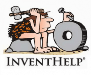 InventHelp Logo: Caveman Carving Stone Wheel