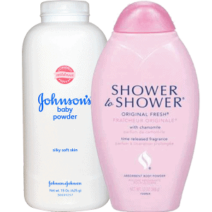 Johnson & Johnson Baby Powder and Shower to Shower Products