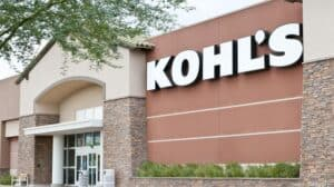 Front of a Kohl's Store