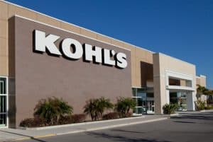 A Kohl's Store at a Mall