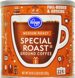 One of the Kroger Coffee Products at Issue