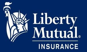 Liberty Mutual Name and Statue of Liberty Logo