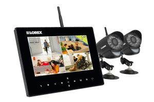 Two Cameras and Monitor for Lorex System