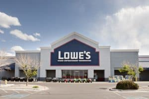 Front View of Lowe's Store
