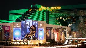 MGM Grand at Night