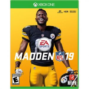 Packaging for Madden NFL 10