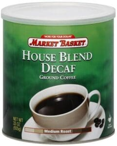 Market Basket House Blend Decaf Ground Coffee