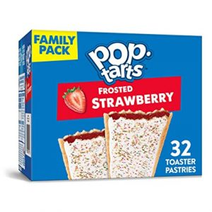 Box of Frosted Strawberry Pop-Tarts