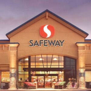 Front of a Safeway Store