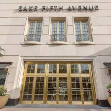 Doors to a Saks Department Store