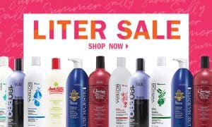 Online Ad for Sally Beauty Liter Sale
