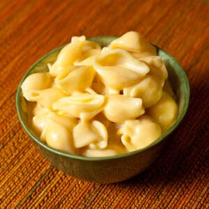 Bowl of Shells with Cheese