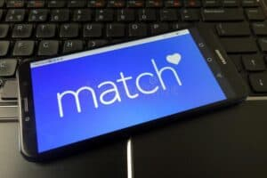 Smartphone with Match on Screen