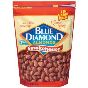 Package of Blue Diamond Smokehouse Almonds