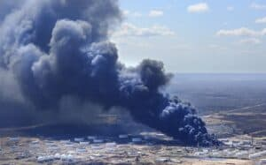 Superior Refinery Explosion and Fire
