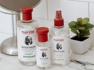 Three Products from Thayers Natural Remedies